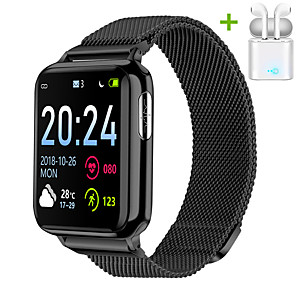 cheap Smartwatches-JSBP PV5 Smart Watch BT Fitness Tracker Support Notify/ Heart Rate Monitor/ ECG PPG Sport Bluetooth Smartwatch Compatible IOS/Android Phones