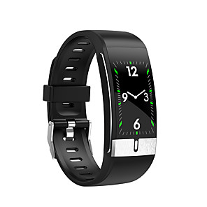 cheap Smart Wristbands-E66 Men Women Smartwatch Android iOS Bluetooth Waterproof Touch Screen Heart Rate Monitor Blood Pressure Measurement Sports ECG+PPG Timer Stopwatch Pedometer Call Reminder