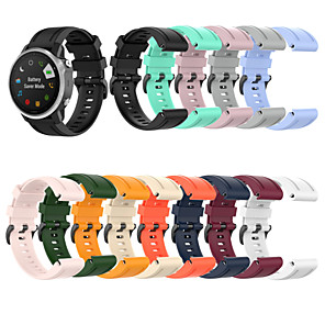 cheap Smartwatch Bands-Watch Band for Fenix 5s / Fenix 5S Plus / Fenix6s Garmin Sport Band Silicone Wrist Strap