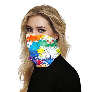 cheap iPhone Cases-Women's Bandana Balaclava Neck Gaiter Neck Tube UV Resistant Quick Dry Lightweight Materials Cycling Polyester for Men's Women's Adults / Pollution Protection / Floral Botanical Sunscreen / High Breat