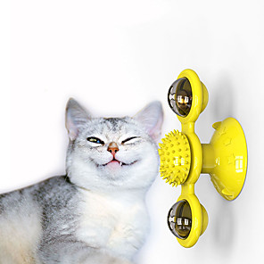cheap Historical & Vintage Costumes-Interactive Toy Tracker Slow Feeder & Treat Ball Cat Pet Toy Focus Toy Massage Plastic Gift