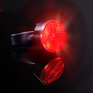 cheap Bike Lights & Reflectors-LED Bike Light Rear Bike Tail Light LED Bicycle Cycling Smart Induction Super Bright Professional Automatic Brake Induction Li-polymer 120 lm Rechargeable Battery Multi Color Cycling / Bike