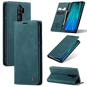 cheap Xiaomi Case-CaseMe Retro Leather Magnetic Flip Case For Redmi Note 8 / Note 8 Pro / K30 / K30 Pro / K20 / K20 Pro With Wallet Card Slot Stand For Xiaomi Note 10 / Note 10 Pro / Mi CC9 Pro / Mi 9T / Mi 9 Case Cove