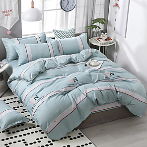 cheap High Quality Duvet Covers-Printing pattern bedding four-piece quilt cover bed sheet pillow cover dormitory single double