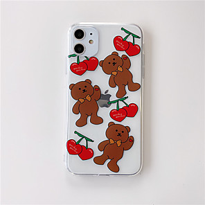 cheap iPhone Cases-Case For Apple iphone 11/pro11proMax/x/XS/XR/XSMax/8p/8/7P/7/SE(2020)Cover TPU Cartoon transparent iphone case