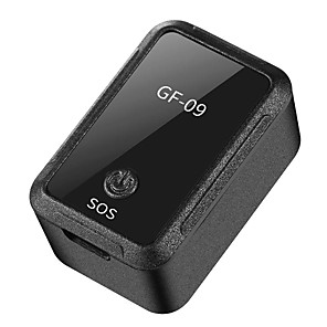 cheap Car DVD Players-GF-09 Mini GPS Tracker APP Control Anti-Theft Locator Car GPS Tracker Upgraded Locator Magnetic Voice Recorder For Vehicle Car Person Location