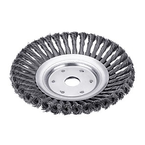 cheap Other Hand Tools-8 Inch Steel Wire Wheel Garden Lawn Mower Grass Eater Trimmer Head Brush Cutter Tools