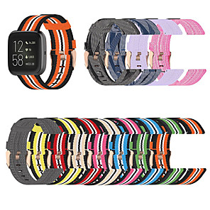 cheap Smartwatch Bands-Watch Band for Fitbit Blaze / Fitbi Versa Lite / Fitbit Versa Lite Fitbit Sport Band / Classic Buckle Nylon Wrist Strap