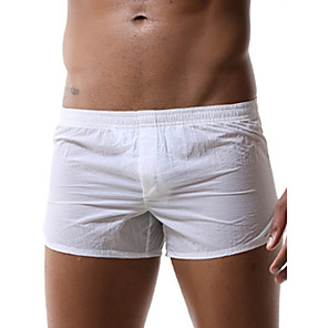 cheap Bathroom Gadgets-Men's Basic Beach board shorts Swimsuit Solid Colored Swimwear Bathing Suits White Black Orange Gray