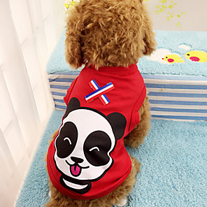 cheap Dog Clothes-Dog Vest Character Cute Dog Clothes Red Green Costume Cotton XS S M L XL