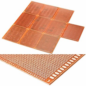 cheap Motherboards-10PCS 7CM x 9CM DIY Prototype Paper PCB Circuit Board Universal Breadboard