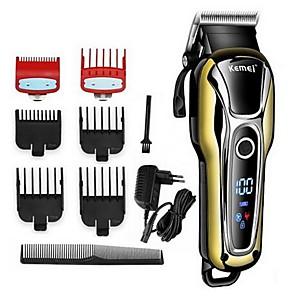 olcso Fürdőszobai kütyük-fodrász üzlet hajvágó professzionális hajvágó férfiak számára szakáll elektromos vágó hajvágó gép fodrász vezeték nélküli vezetékes