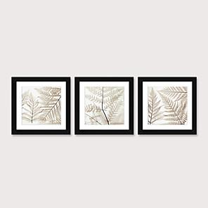 cheap Framed Arts-Framed Art Print Framed Set 3 - Floral Landscape PS Illustration Wall Art
