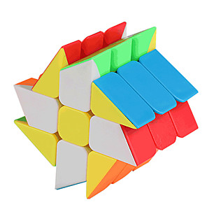 cheap Magic Cubes-Speed Cube Set 1 pc Magic Cube IQ Cube Pyramid Alien Megaminx 3*3*3 Magic Cube Puzzle Cube Professional Level Stress and Anxiety Relief Focus Toy Classic & Timeless Kid's Adults' Toy All Gift