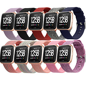 cheap Smartwatch Bands-Watch Band for Fitbit Versa / Fitbi Versa Lite / Fitbit  Versa 2 Fitbit Sport Band Nylon Wrist Strap