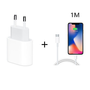 cheap Wall Chargers-Quick Charge 4.0 3.0 QC PD Charger 18W QC4.0 QC3.0 USB Type C Fast Charger for iPhone 11 X Xs 8 Xiaomi Phone PD Charger