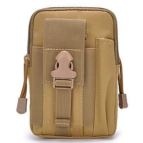 cheap Men's Bags-Men's Zipper Nylon Fanny Pack Snakeskin Black / Army Green / Orange