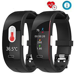 cheap Smartwatches-P3A Smart Band Watch With Remote Care ECG Temperature Blood Health Management Sport Fitness Tracker For Xiaomi huawei