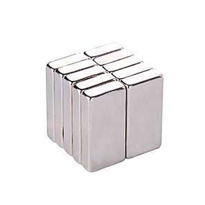 billige Magnetiske leker-100 pcs 5.4*5.4*1.1mm Magnetiske leker Byggeklosser Supersterke neodyme magneter Neodym-magnet Puzzle Cube Magnetisk Voksne Gutt Jente Leketøy Gave