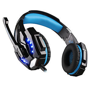 cheap Gaming Headsets-KOTION EACH G9000 Gaming Headset Wired Stereo Dual Drivers with Volume Control InLine Control for Gaming
