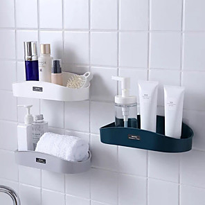 cheap Bath Body Care-NEW Bathroom Shelf Storage Shampoo Holder Kitchen Storage Rack Organizer Wall Shelf Bathroom Holder Shelves Corner Shower Shelf