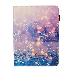 cheap iPad case-Case For Apple iPad New Air 10.5 / iPad Mini 3/2/1/4/5 Card Holder / with Stand / Flip Full Body Cases Scenery PU Leather For iPad 10.2 2019/Pro 11 2020/Pro 9.7/2017/2018