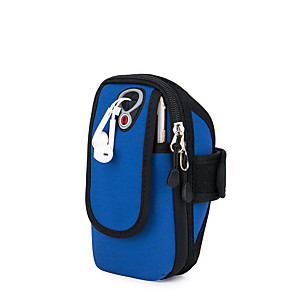 cheap Running Bags-Phone Armband Running Armband for Running Hiking Outdoor Exercise Traveling Sports Bag Reflective Adjustable Waterproof Neoprene Men's Women's Running Bag Adults