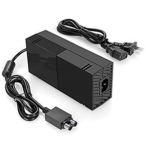 cheap Bluetooth Car Kit/Hands-free-Xbox One Power Supply Charger, AC Adapter Charger with Power Cord for Xbox 1 Console, Worldwide Use For for Xbox One with Cable 100-240V Auto Voltage, Black
