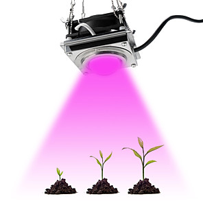 cheap Plant Growing Lights-1pcs Full Spectrum COB Grow Light 60W High Luminous Efficiency Growing Lamp for Plants COB Phytolamp for Indoor Grow Box Greenhouses