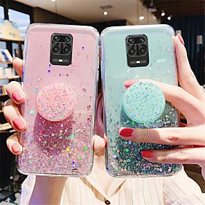 cheap Xiaomi Case-Glitter Bling Case For Xiaomi Redmi Note 9 / 9s / 9Pro / 9Pro Max / 8T / 8Pro / 8Pro / 7 / 7S / 7Pro  / 6A / K30 Pro / K20 Case For Xiaomi Mi 10 / 10Pro / CC9Pro / F1 / 9se / 8Lite Stand Holder Cover