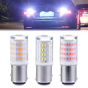 cheap Tattoo Stickers-2pcs 80SMD S25 1156 BA15S P21W LED 1157 BAY15D P21/5W LED Bulb R5W R10W Car Turn Signal Light Reserve Lamps Auto Brake Light