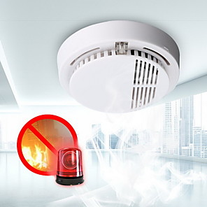 cheap Home Security System-Smoke detector fire alarm detector Independent smoke alarm sensor for home office Security photoelectric smoke alarm