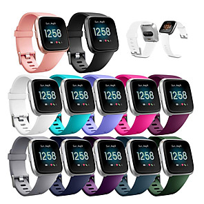 cheap Smartwatch Bands-Watch Band for Fitbit Versa Lite / Fitbit Versa2 fitbit versa 2 Sport Band Silicone Wrist Strap