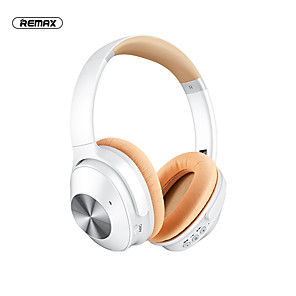 cheap TWS True Wireless Headphones-Remax RB-600HB Over-ear Wireless Headphone ANC Active Noice-Cancelling Bluetooth 5.0 Stereo with Microphone HIFI Auto Pairing for Premium Audio