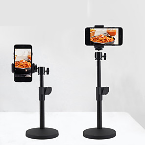 cheap Phone Mounts & Holders-Desk Mount Stand Holder 360° Rotation Adjustable Aluminum Alloy Holder
