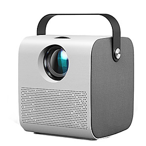 voordelige Projectors-q3 mini projector hd 2800 lumen hifi bluetooth speaker home cinema ondersteuning 1080p 4k 3d beamer game projector video home cinema film game projector