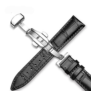 cheap Smartwatch Bands-Watch Band for Apple Watch Series 4/3/2/1 Samsung Galaxy / Apple Modern Buckle / Business Band Quilted PU Leather Wrist Strap