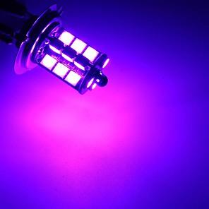 cheap Car Fog Lights-2 Pcs Car LED Fog Lights H7 /H11 /9005 /9006 RGBW Multi-Color 5050 27 SMD Decoration Lamps With Remote Control
