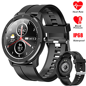 cheap Smartwatches-696 QWT6 Unisex Smartwatch Android iOS Bluetooth Waterproof Heart Rate Monitor Blood Pressure Measurement Sports Information Pedometer Call Reminder Activity Tracker Sleep Tracker Sedentary Reminder