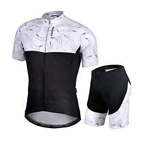 cheap Cycling Jersey & Shorts / Pants Sets-Nuckily Men's Short Sleeve Cycling Jersey with Shorts Black Fruit Bike Quick Dry Sports Fruit Road Bike Cycling Clothing Apparel