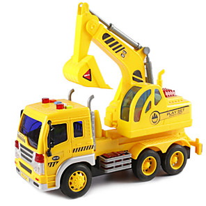 cheap Toy Cars-1:16 Plastic Shell Construction Truck Set Crane Excavator Sprinkler Truck Toy Truck Construction Vehicle New Design Simulation Kids Car Toys