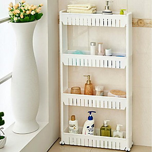 cheap Bathroom Gadgets-Tools Storage / Multifunction Basic / Modern Contemporary Plastic Bathroom Decoration