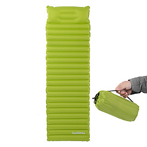 cheap Tents, Canopies & Shelters-Naturehike Inflatable Sleeping Pad Camping Pad Air Pad Outdoor Camping Waterproof Moistureproof Ultra Light (UL) 186*60*8.5 cm Nylon Hunting Fishing Beach for 1 person
