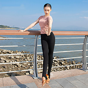 cheap Latin Dancewear-Latin Dance Pants Ruching Gore Women's Performance High Modal