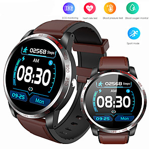 cheap Smartwatches-W3 Smart Watch Men IP68 Waterproof Reloj SmartWatch With ECG PPG Blood Pressure Heart Rate Sports Fitness watches