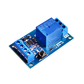 cheap Relays-12v Bond Bistable Relay module car modification Switch One Key Start and Stop