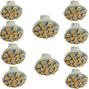 cheap LED Spot Lights-10pcs 3 W LED Spotlight 300 lm MR11 15 LED Beads SMD 5050 Warm White Cold White Natural White 9-30 V