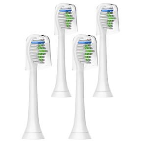 cheap Bathroom Gadgets-4 PCS Tooth Brush Heads For Philips Sonicare HX6250 HX6620 HX3610 HX6616 HX6340 3230A/3250A