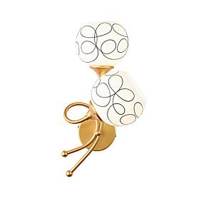 billiga Övervakningskameror-Ecolight™ Kreativ / Ny Design Moderna / Nordisk stil Vägglampor Sovrum / affärer / caféer Metall vägg~~POS=TRUNC IP20 110-120V / 220-240V 60 W