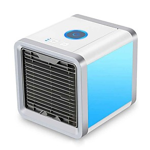 cheap Fans-Baby Care Air Cooler Mini Air Conditioning Humidifier Purifier Appliances Fans Cooling Fan Summer Conditioner for Office Home